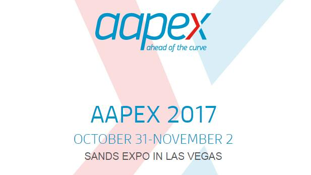 We attended the AAPEX 2017 in Las Vegas