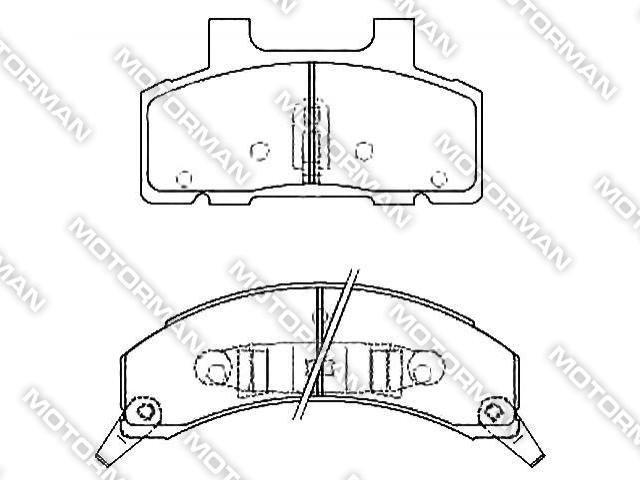 brake pad d215